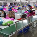 Băng tải cho ngành dệt may