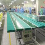 Băng tải PVC dùng trong ngành điện tử
